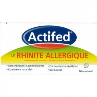 Actifed LP Rhinite Allergique - boite 10 comprimés - Mon