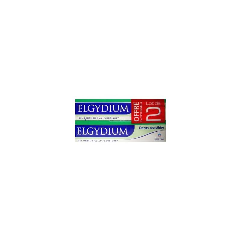 Elgydium Dentifrice Dents sensibles. Offre Spéciale 3 Tubes de 75ML