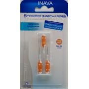 Inava Recharge Brossette interdentaire orange étroits. 3 unités