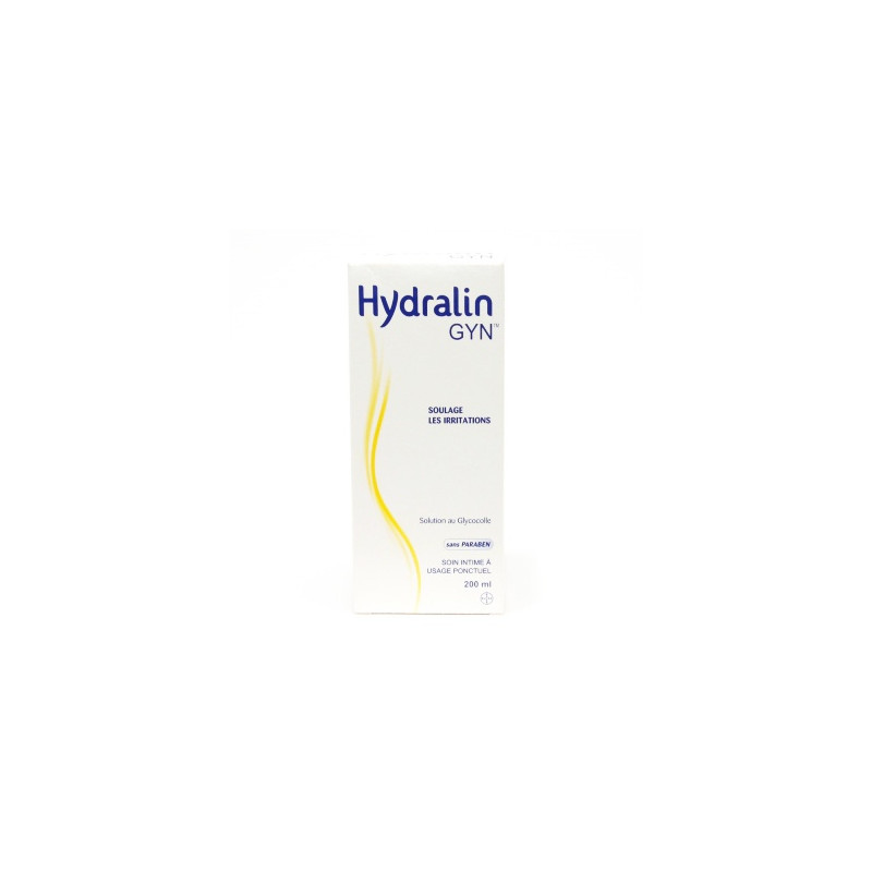 Hydralin GYN Soin intime à usage ponctuel. Flacon 200ML