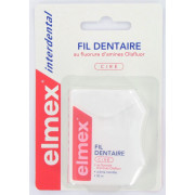 Elmex Fil Dentaire Ciré Arôme Menthe. 50M