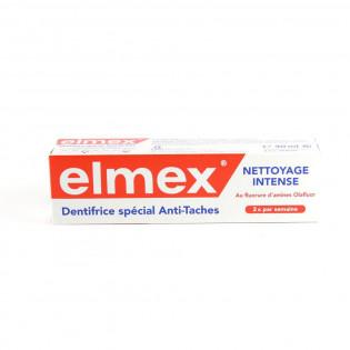 Elmex nettoyage intense Pâte dentifrice anti-tache. Tube de 30ML