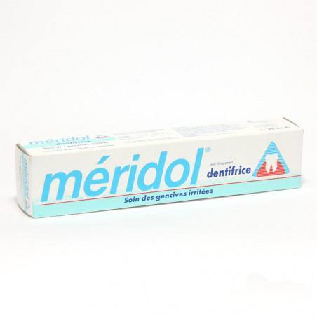 Meridol dentifrice Soin Gencives Irritées. Tube de 75ML