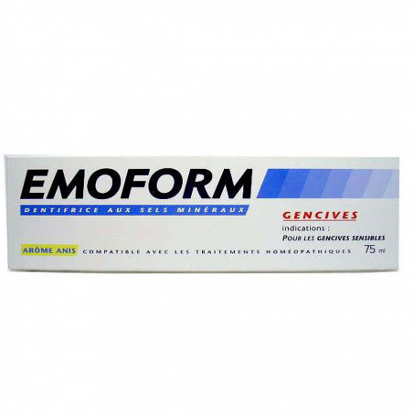 Emoform Dentifrice Gencives Anis. Tube 75ML