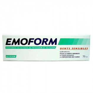 Emoform Dentifrice Dents Sensibles. Tube 75ML