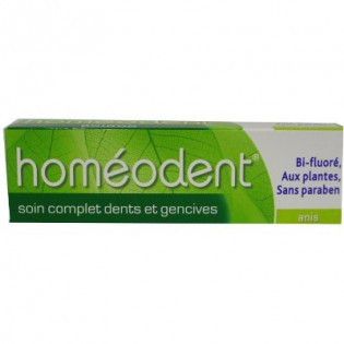 Homéodent Soin Complet Dents et Gencives Anis. Tube 75ML