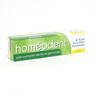 Homéodent Soin Complet Dents et Gencives Citron. Tube 75ML