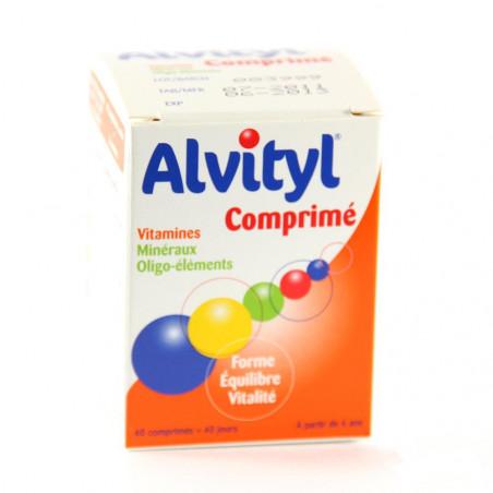 Alvityl Plus Forme équilibre Vitalité. 40 Comprimés à avaler