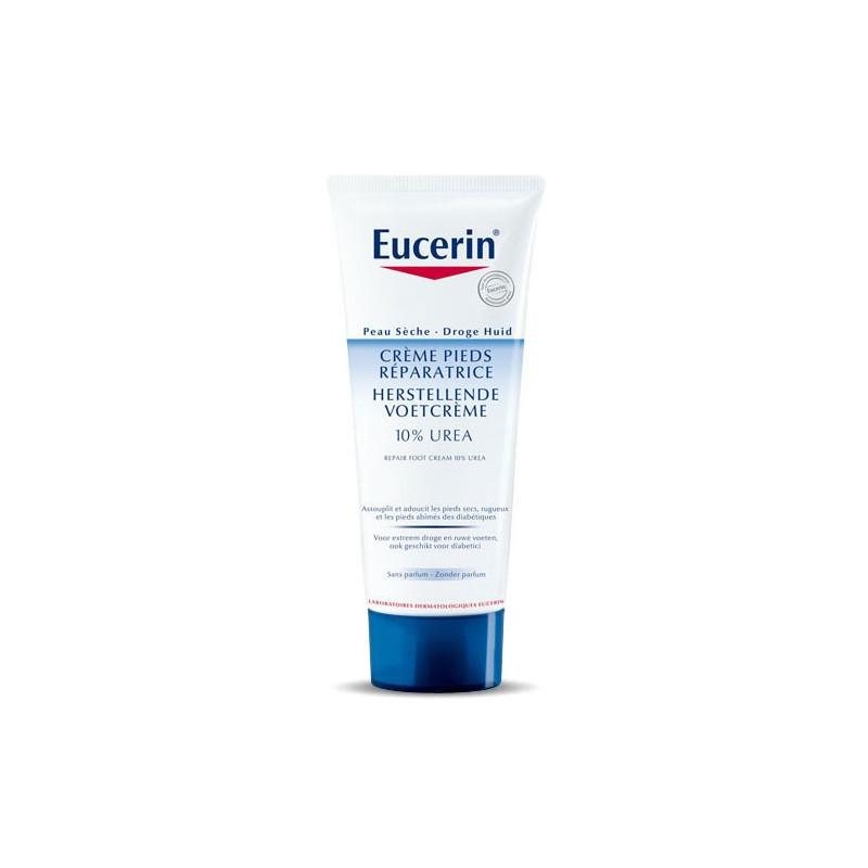 Eucerin Crème Pieds Réparatrice 10% Urée. Tube 100ML