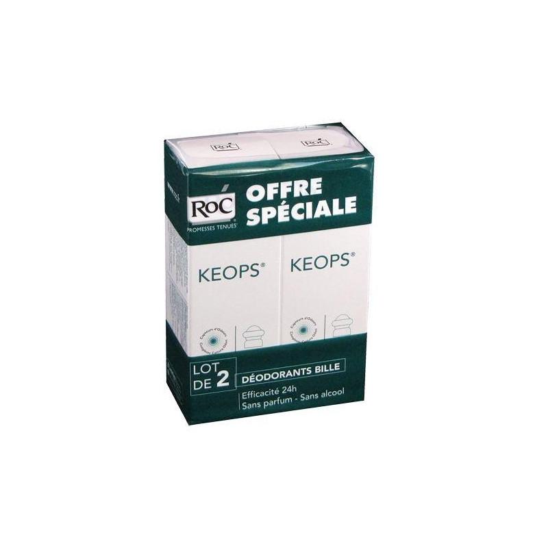 Offre Keops Déodorant sans alcool Bille. Lot de 2 de 30ML