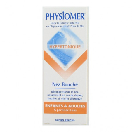 Physiomer Hypertonique Nez Bouché. Spray 135ML