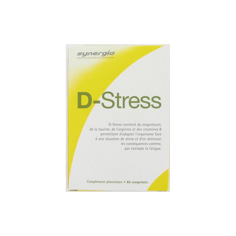 D-STRESS Anti-stress. Boîte de 80 comprimés