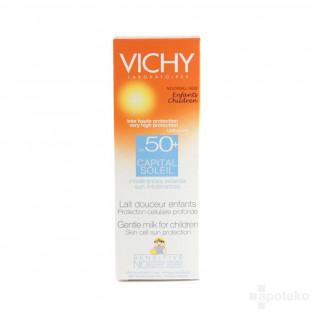 Vichy Capital Soleil SPF50+ Lait Douceur Enfants Intolérances. Tube 100ml