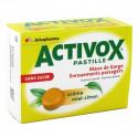 Activox sans sucre Miel Citron - boite 24 pastilles