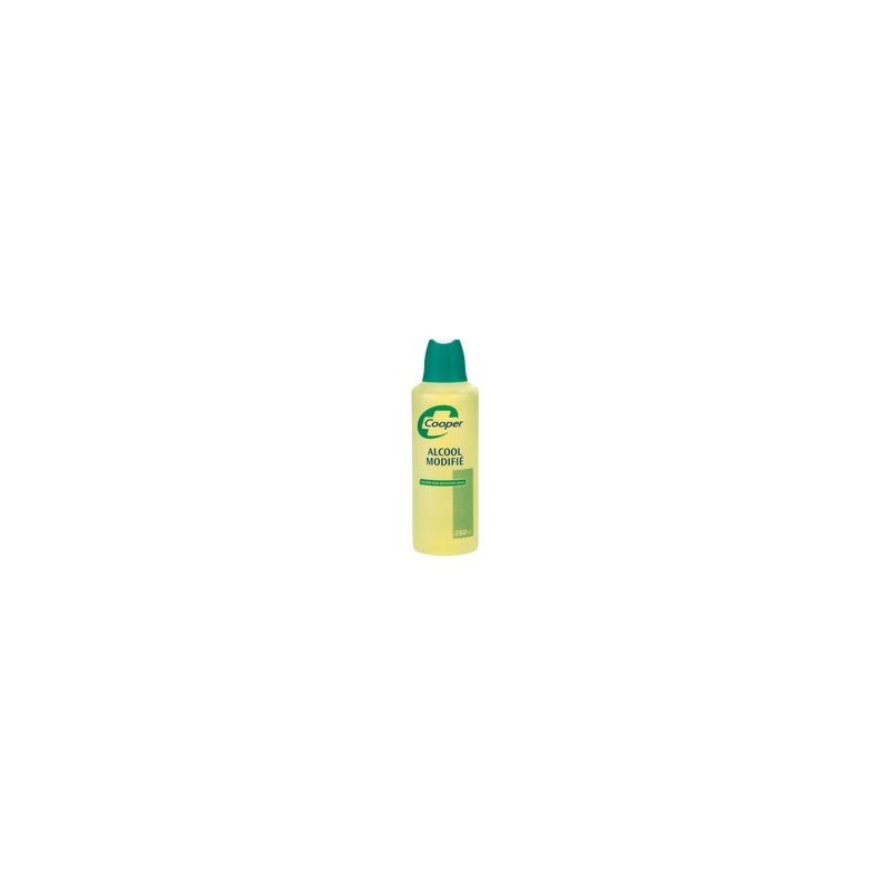 Alcool modifié Cooper solution externe 70% - 250ml