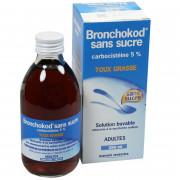 Bronchokod sirop Adulte sans sucre 5% 250ml
