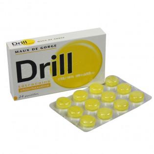 Drill Citron-menthe pastilles par 24