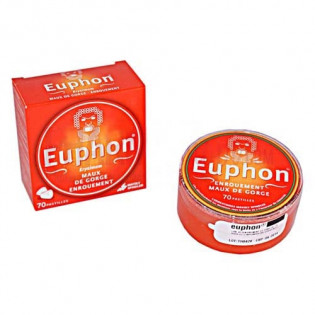 Euphon orange mandarine 70 pastilles