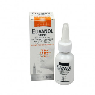 Euvanol spray 15 ml
