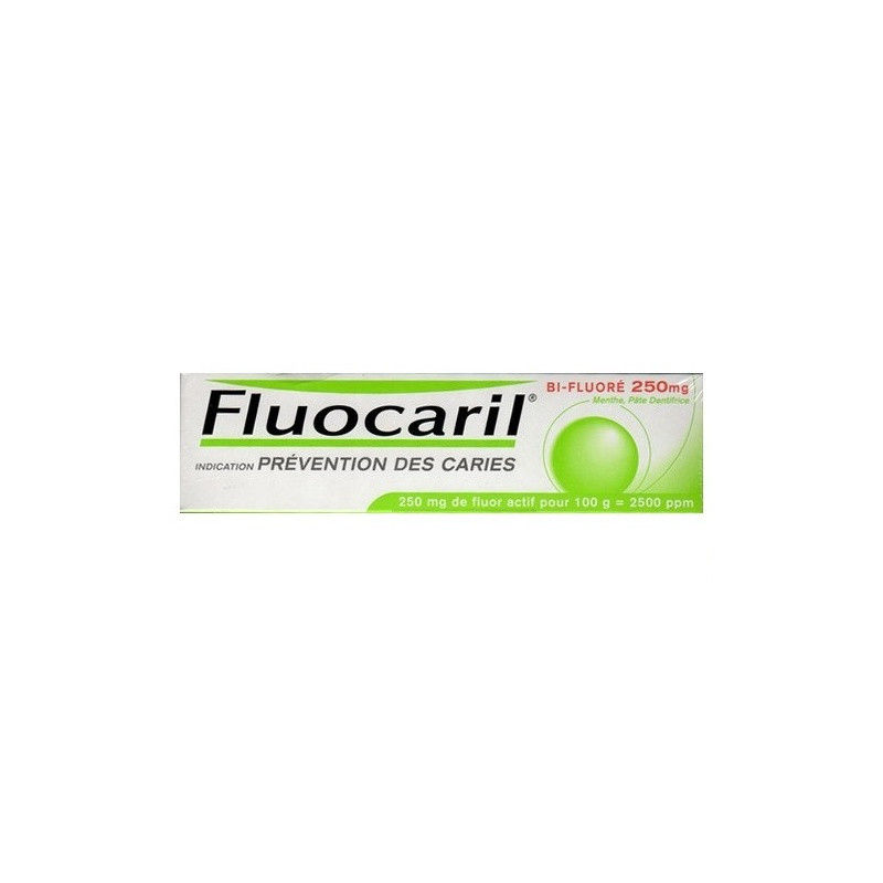 Fluocaril dentifrice menthe 75ml