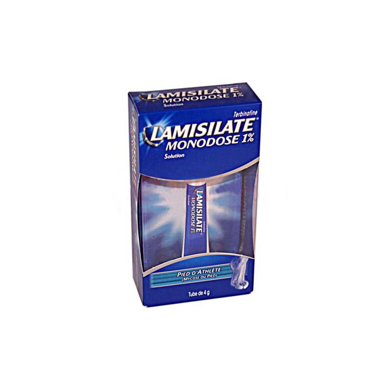 Lamisilate crème monodose 1% 4G