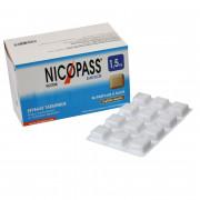 Nicopass 1,5mg 96 pastilles sans sucre réglisse menthe