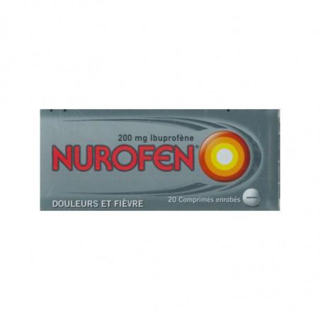 Nurofen 200mg 20 comprimés