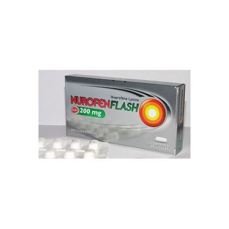 Nurofenflash 200mg 12 comprimés