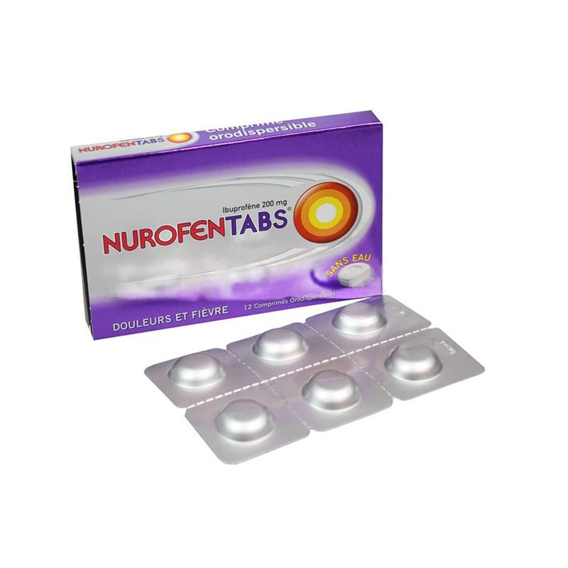 NurofenTabs 200mg 12 comprimés orodispersibles