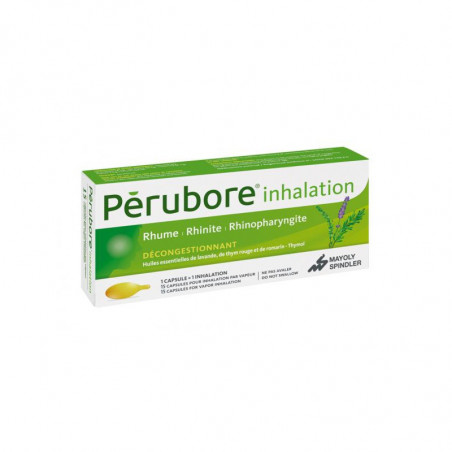 Pérubore Inhalation 15 capsules