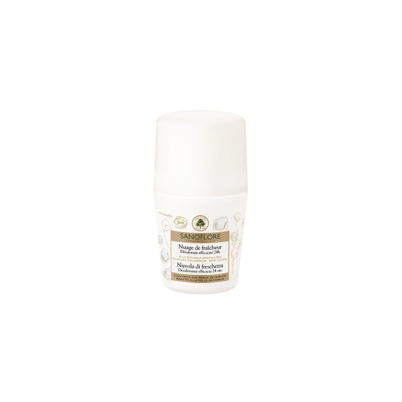 Sanoflore déodorant roll-on 24h 50ml