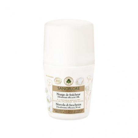 Sanoflore Nuage de Fraîcheur déodorant 24h roll-on 50ml