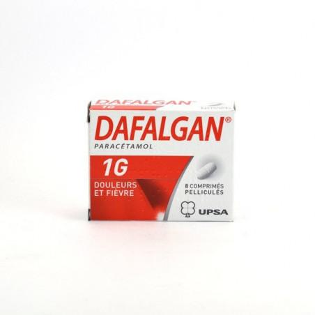 Dafalgan 1gr UPSA boîte de 8cps