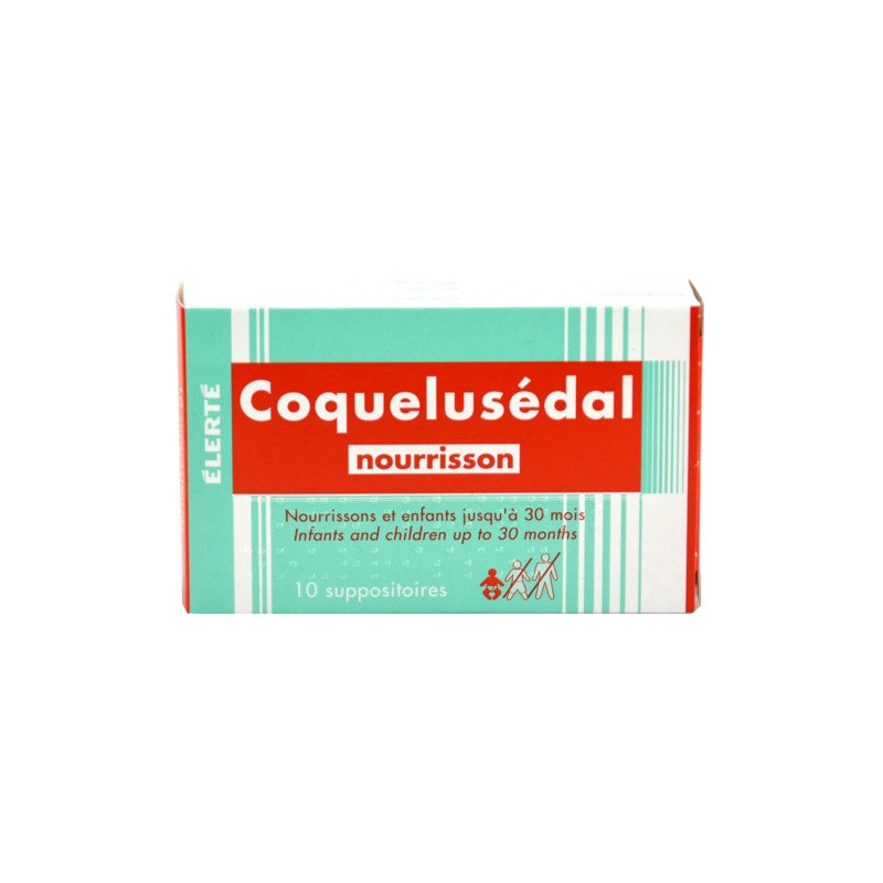suppositoire coquelusedal