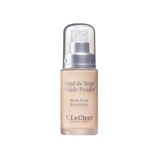 T.Leclerc Fond de Teint Fluide Poudré SPF 15 02 Clair Rosé Mat 30ml