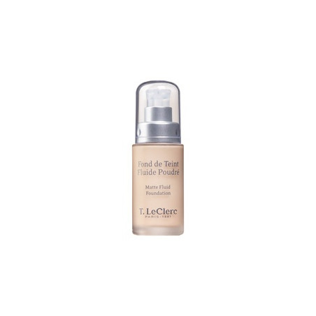T.Leclerc Fond de Teint Fluide Poudré SPF 15 - 02 Clair Rosé Mat 30ml