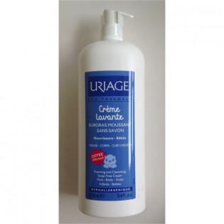 Uriage Crème lavante surgras moussant sans savon 1L