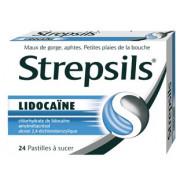 Strepsils Lidocaine 24 Pastilles