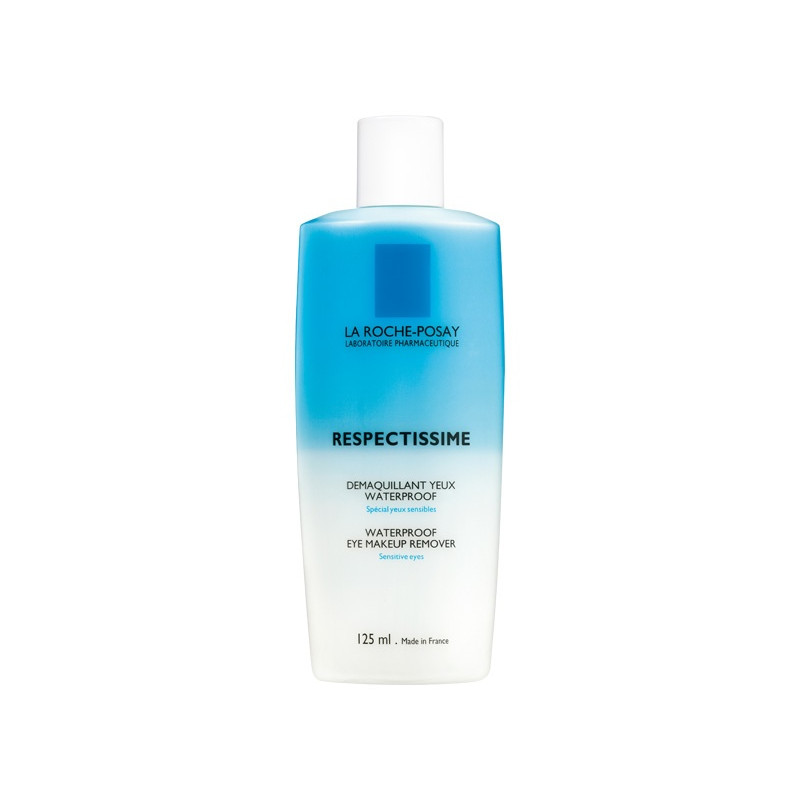 La Roche-Posay Respectissime Démaquillant Yeux Waterproof. Flacon 125ML