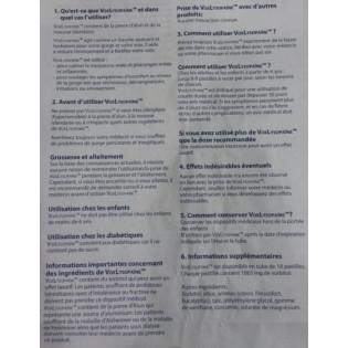 VoxLysopaïne sans sucre citron eucalyptus boîte 18 pastilles