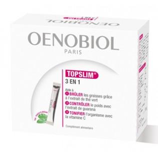 Oenobiol Topslim 3en1 Brûleur Minceur. 14 sachets de 3.1G