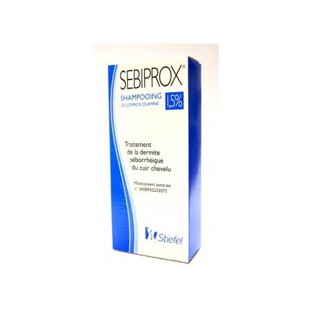 Sébiprox shampooing 1.5% ciclopirox 100ml