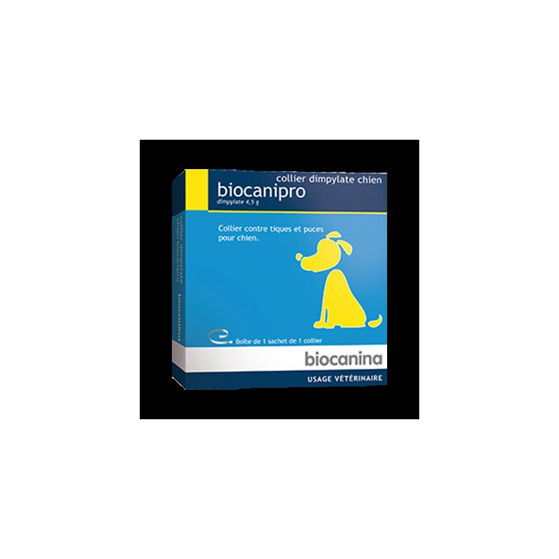 Biocanipro collier dimpylate chien boîte de 1