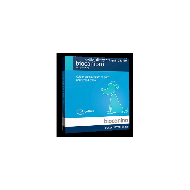 Biocanipro collier dimpylate grand chien boîte de 1
