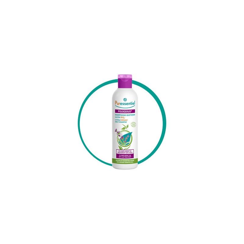 Puressentiel pouxdoux shampooing quotidien bio 200ml