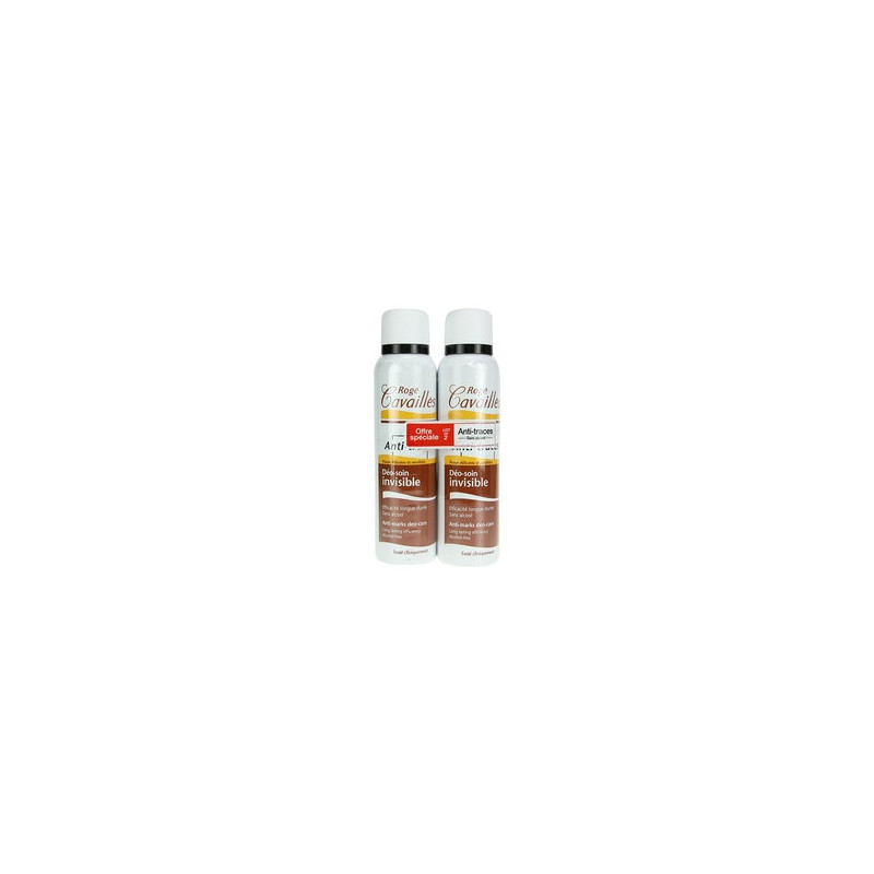 Rogé Cavailles Déo soin invisible sans alcool lot de 2x150ml