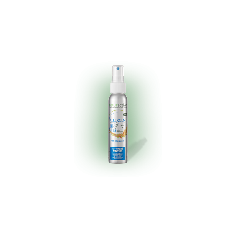 Allergen spray Bio 11 huiles essentielles flacon 100ml