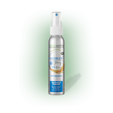 naturactive Allergen spray Bio 11 huiles essentielles flacon 100ml