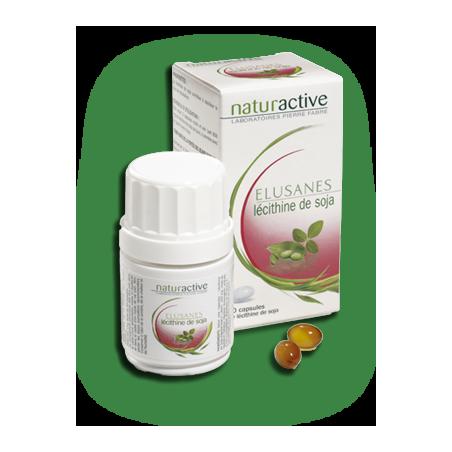 Naturactive Lécithine de soja 200mg 60 capsules