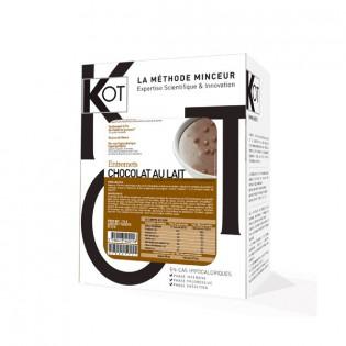 KOT Entremets Chocolat au lait croquant avec des céréales croustillantes 7 sachets